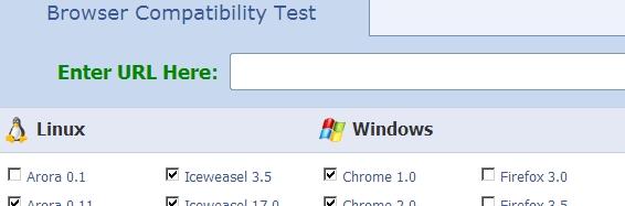 Kompatibilita zobrazení webů v různých prohlížečích